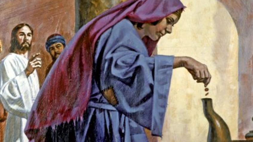 Ðồng xu bà góa nghèo – Giáo xứ Tân Định