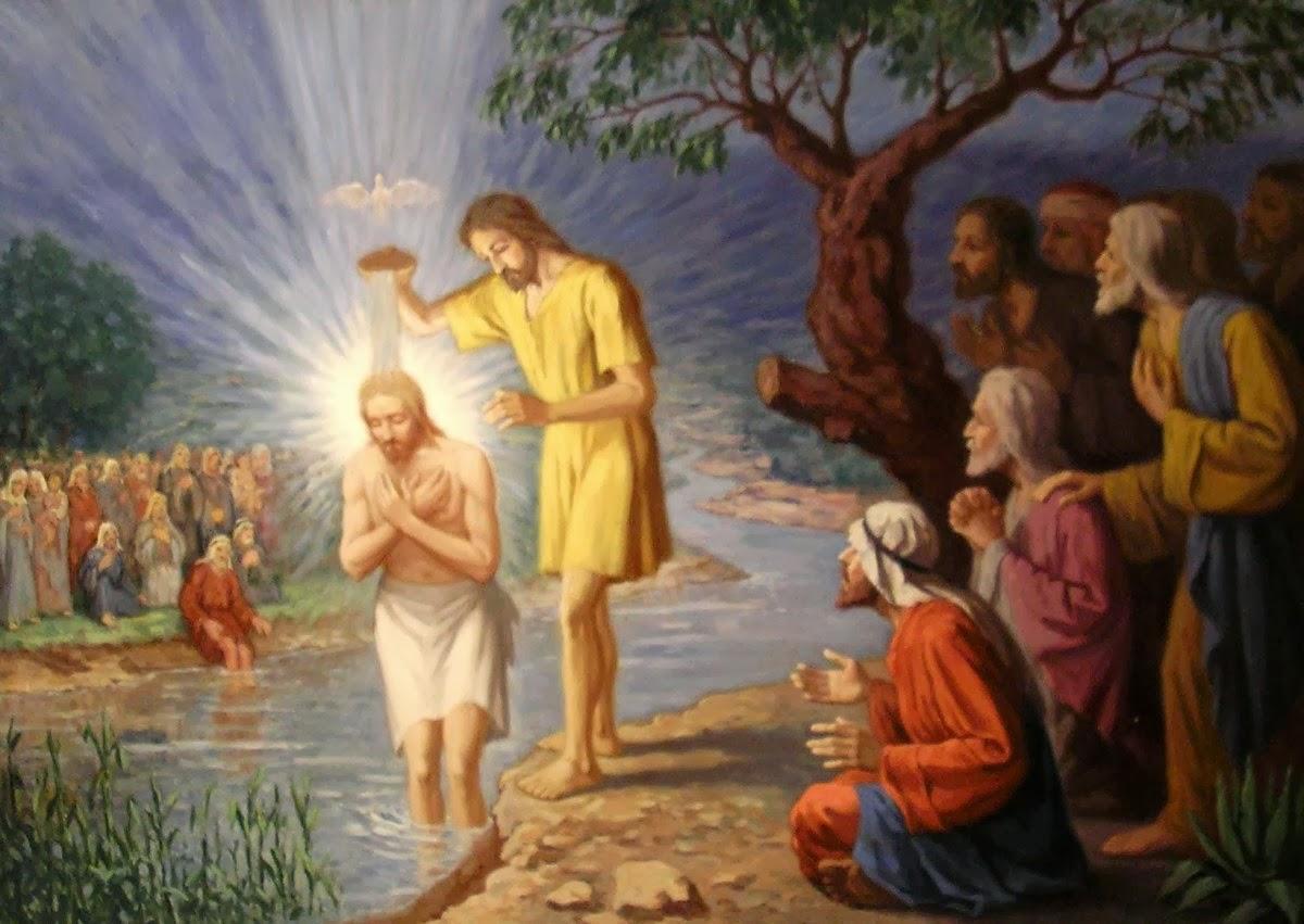 """Kết quả hình ảnh cho Thánh Kinh bằng hình: Chúa nhật Lễ Chúa Giêsu chịu phép rửa – Năm A"""""""